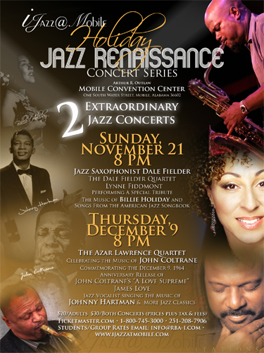 Jazz@Mobile Holiday Jazz Renaissance Concert Series